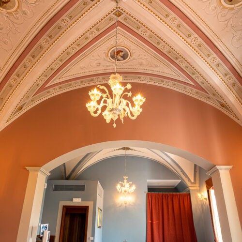 Hotel Villa San Michele - Affreschi in sala ristorante