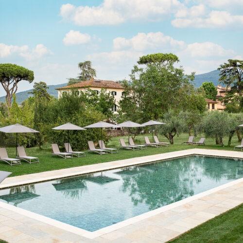 Hotel Villa San Michele - la piscina