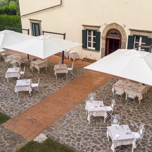 Hotel Villa San Michele - Vista aerea giardino esterno