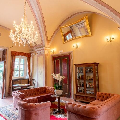 Hotel Villa San michele - Lounge room ingresso hall